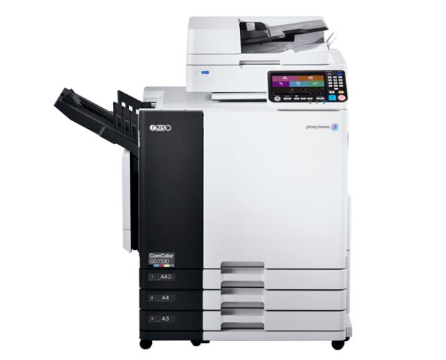 imprimerie tour dauphinoise imprimante jet d'encre quadrichromie riso COMCOLOR GD7330
