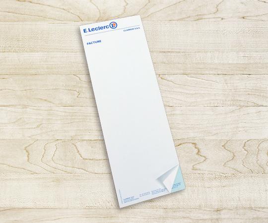 Liasse autocopiante imprimerie tour dauphinoise papier autocopiant blanc bleu