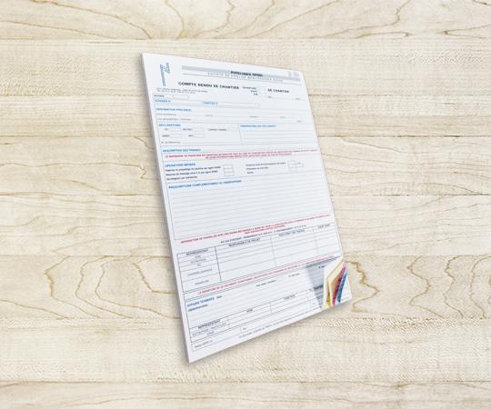 bloc autocopiant imprimerie tour dauphinoise papier autocopiant blanc jaune rose bleu